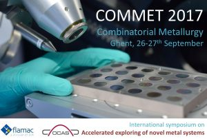 COMMET2017 - First symposium on combinatorial metallurgy confirms its high potential