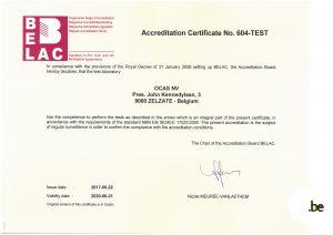 Accreditation for OCAS